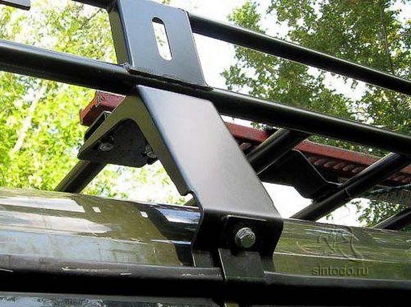 Крепеж багажника на крышу своими руками 41